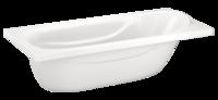 Ванна Domani-Spa Classic (комплектация без экранов, вид сверху)