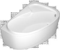 Ванна Domani-Spa Flora (комплектация с экранами, вид сверху)