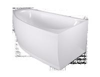 Ванна Domani-Spa Style (комплектация с экранами, вид сзади)