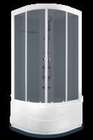 Domani-Spa Light 110 high ВГ Светлые стенки, тонированные стекла