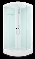 Domani-Spa Light 110 Россия, светлые стенки, сатин-матированные стекла