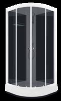 Domani-Spa Light 110 Россия, черные стенки, тонированные стекла