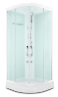 Domani-Spa Light 110 ВГ Россия, светлые стенки, сатин-матированные стекла