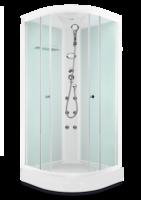 ДК Domani-Spa Light 88 ВГ, Белые стенки, прозрачные стекла