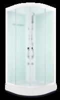 ДК Domani-Spa Light 88 ВГ, Белые стенки, сатин-матированные стекла