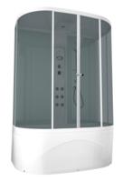 Душевая кабина Domani-Spa Neat high (светлые стенки, тонированные стекла)