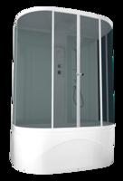 Душевая кабина Domani-Spa Neat high без ВГ (светлые стенки, тонированные стекла)