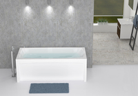 Ванна Domani-Spa Clarity в интерьере