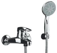 Смеситель для ванны Domani-Spa Loop D101 короткий излив