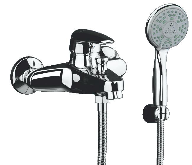 Смеситель для ванны Domani-Spa Sleek D101