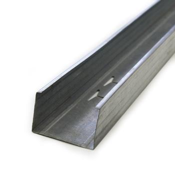 Профиль стоечный для гипсокартона ПС 75x50x3мx0,45