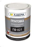 Грунт ГФ-021 красно-коричневый ЛАКРА 20 кг