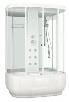 Душевая кабина Domani-Spa Neat high (зеркальные стенки, прозрачные стекла)