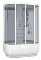 Душевая кабина Domani-Spa Neat high (зеркальные стенки, тонированные стекла)