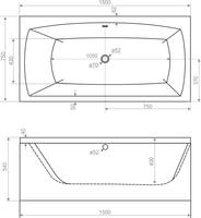 Ванна Domani-Spa Clarity 150 (чертеж).jpg