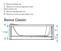 classic схема с размерами