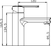 Смеситель для раковины Domani-Spa Loop II
